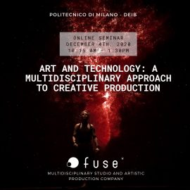 MAE Seminar – Art and Technology: a Multidisciplinary Approach to Creative Production